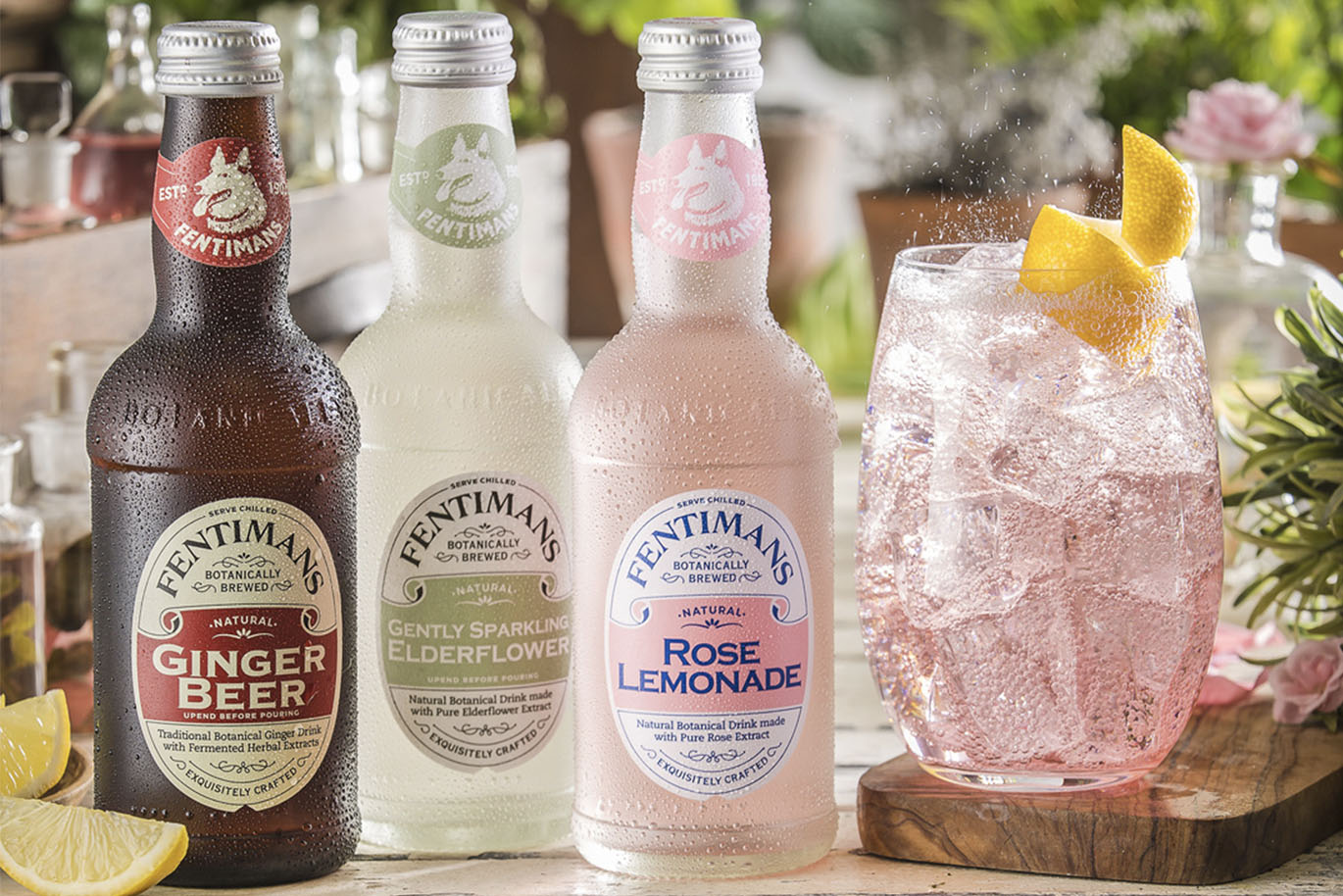 Cocktails met Fentimans!